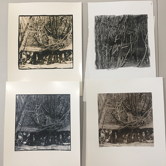 Examples of test prints